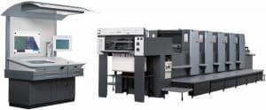 Печатная пятисекционная машина