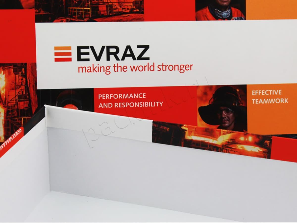 Коробка крышка-дно для корпоративных подарков