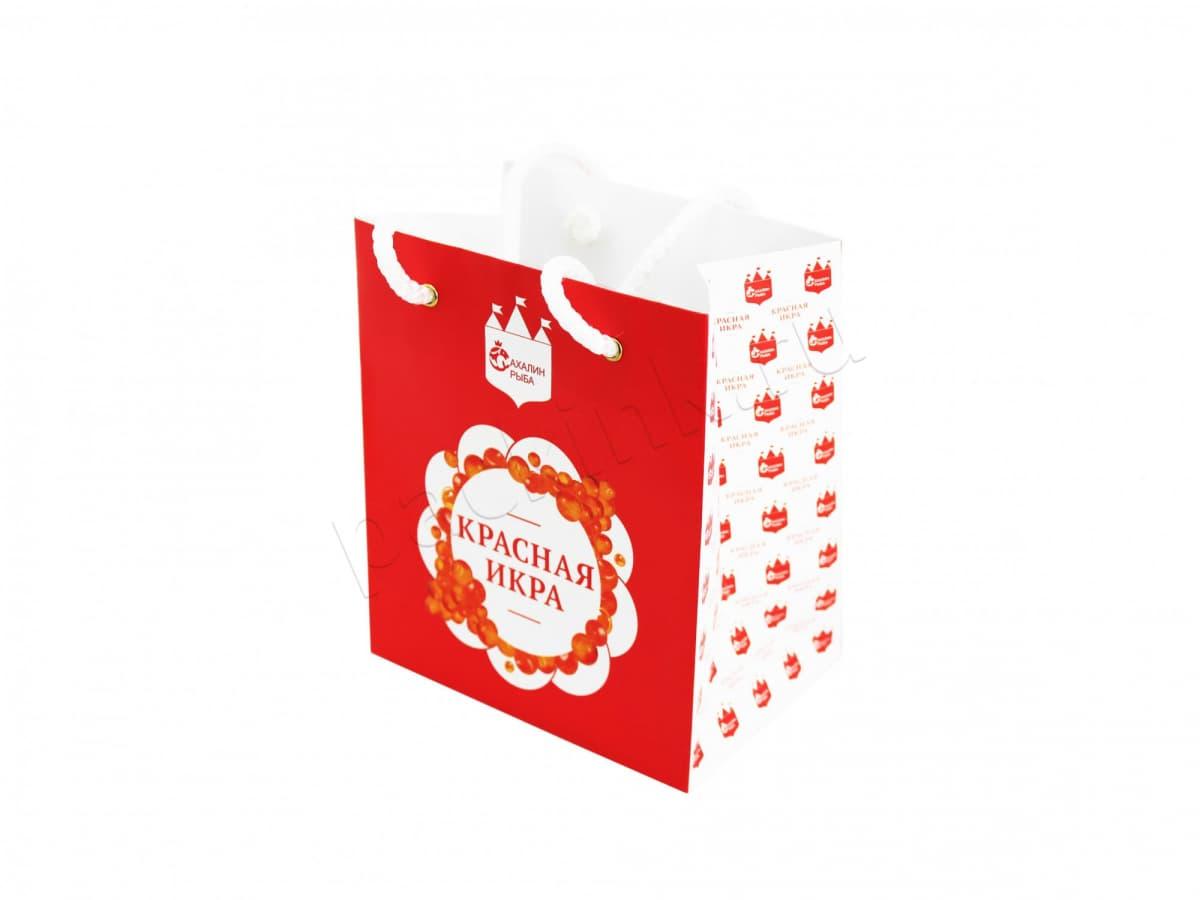 Фирменный пакет для магазинов морепродуктов