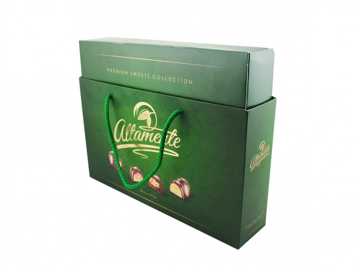 Комплект упаковки для шоколадных конфет