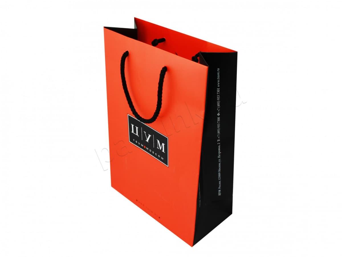 Фирменный пакет для крупного магазина